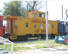 On Display at the Limon Heritage Museum & Railroad Park Complex