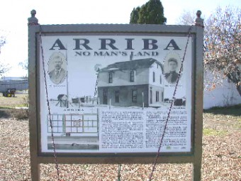 arriba colorado sign