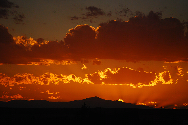 Sunset over Pikes Peak (1)