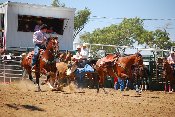 Lincoln County Colorado Media Coverage-Linc Co Fair Rodeo