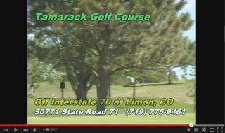Tamarack--a best kept secret 2 miles south of Limon on State Hwy 71