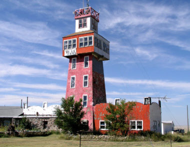 Mustang Mile Post 526-1 - Colorado Ghost Town near Genoa Colorado's  Wonder Tower