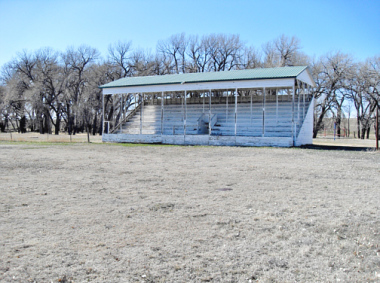 Grandstand at Walks Camp - Colorado Ghost Town