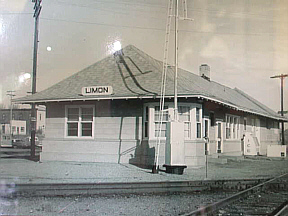 Limon Ghosts at Limon Colorado's Rock Island Depot