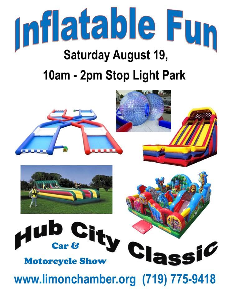Hub City Classic 2017 Inflatables