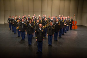 "The Colorado Army National Guard's 101st Army Band, conducted by Chief Warrant Officer 2 Russell Massey, presents ""Citizen Soldier,"" a musical and dramatic concert experience celebrating military service at the Vance Brand Auditorium at Skyline High School in Longmont, Colo. May 25, 2014 in honor of Memorial Day. The 101st has acted as a musical ambassador for the state of Colorado and the United States Army since its federal recognition, September 18,1937, as the band section of Service Battery, 168th Field Artillery in Denver, Colo. Standing as a separate entity in the 21st century, the band is comprised of approximately 50 Citizen-Soldiers. Within the band is individual musical performance teams, including the Centennial Wind Ensemble, Mile High 101st Rock Band, 101st Army Dixieland Band, Open Range Country Band and Marching Band. (U.S. Army National Guard photo by Spc. Kristin Stoneback/Released)"